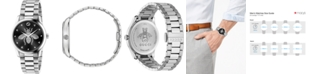 Gucci Men's Swiss G-Timeless Stainless Steel Bracelet Watch 38mm